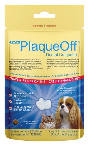 PlaqueOff Dental Croquetten 60 g
